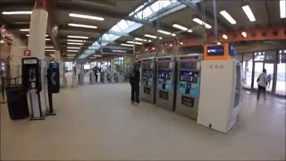 Download Midway Airport to Downtown Chicago Using Elevated Train Orange Line Video