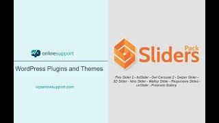 Download SlidersPack – All In One Image Sliders Video