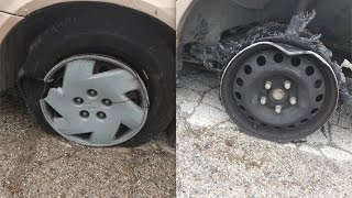 Download What Happens if you Drive on a Flat Tire Video