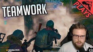 Download TEAMWORK DREAM - PlayerUnknown's Battlegrounds Gameplay # 93 (custom server PUBG squads) Video