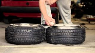Download How to stretch a tire... and how you don't. Video