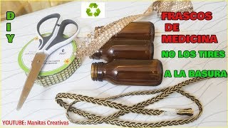 Download Idea Para Reciclar Frascos de Remedio-IDEIAS VALIOSAS COM VIDROS DE REMÉDIOS Video