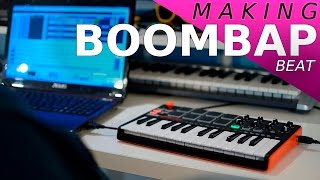 Download Making a beat Akai MPK Mini MK2 Ep73 Video