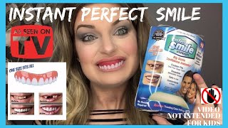 Download Perfect Instant Smile Press On Veneers Demo & Review Video