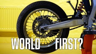 Download FIRST NOHANDER WHEELIE WITH ELECTRIC BIKE EVER? | Vlog #5 Video