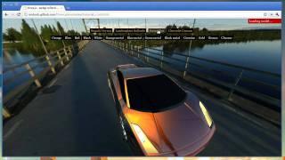 Download three.js webgl cars demo Video