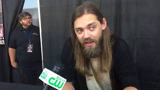 Download Interview with Tom Payne - Jesus from The Walking Dead Video