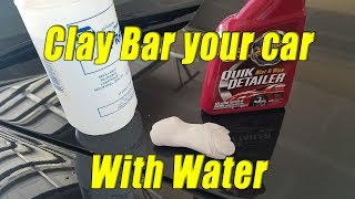 Download how to Clay bar your car with water?! (step 2 of 4) Video