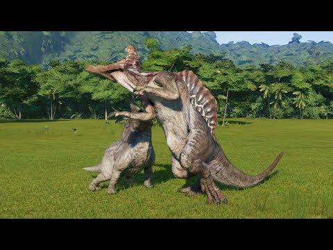 stream 2 torosaurus modified vs t rex i rex spinosaurus i raptor