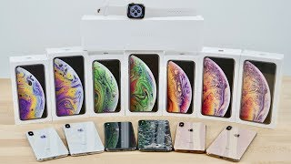 Download iPhone XS, XS Max & Apple Watch 4 Unboxing! All Colors Video