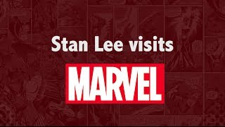 Download Stan Lee Visits the Marvel Office Video