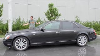 Download Here's Why the Maybach 57S Has Lost $300,000 in Value Over 10 Years Video