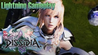 Download Dissidia Final Fantasy NT Open Beta - Lightning Gameplay | Online Matches Video