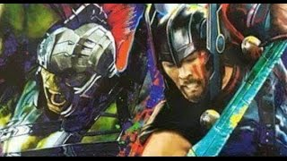 Download Thor artwork features Gladiator Hulk & Thor with Swords Video