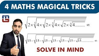 Download 4 MATHS MAGICAL TRICKS | SOLVE IN 2 SECONDS | MATHS | SSC CGL SPECIAL Video
