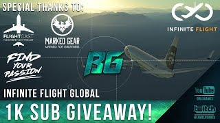 Download Infinite Flight Global - 1K Sub Giveaway! (Long Haul to Dubai) Video