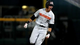 Download Highlights: Trevor Larnach's ninth-inning blast lifts Oregon State past Arkansas, forces College... Video