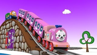 Download Toy Train - Train Videos - Toy Factory - Cars for Kids - Train Cartoon for Children - Choo Choo Kids Video