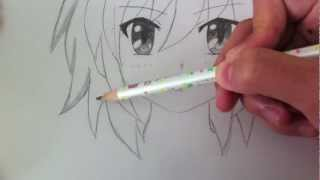 Download Drawing a Basic Manga Girl Video