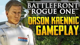 Download Star Wars Battlefront: Rogue One Scarif | Orson Krennic HERO Gameplay | 4k Video
