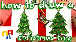 Download How To Draw A Christmas Tree Video