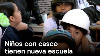 Download Niños con casco van a escuela remodelada - Sinaloa - En Punto con Denise Maerker Video