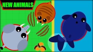 Download MOPE.IO 3 NEW ANIMALS   ELEPHANT, BLUE WHALE & SABERTOOTH   MOPE.IO NEW UPDATE(Mope.io) Video