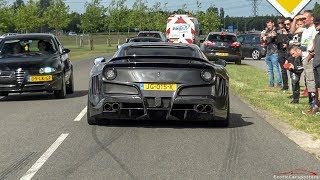 Download Supercars Accelerating - 2x LaFerrari, Novitec N-Largo S, P1, Carrera GT, AMG GT R,... Video
