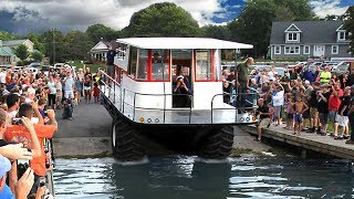 Download Amphibious Driving Houseboat - First Launch Video