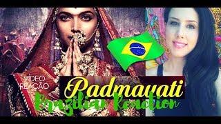 Download Padmavati Brazilian Reaction / Deepika Padukone/ Shahid Kapoor / Ranveer Singh / Trailer Reaction Video