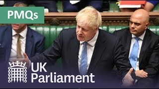 Download Prime Minister's Questions: 23 October 2019 Video