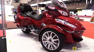 Download 2016 Can am Spyder RT Limited - Walkaround - 2015 Tokyo Motor Show Video