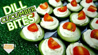 Download CUCUMBER BITES KIDS WILL LOVE! | Home Plates Video