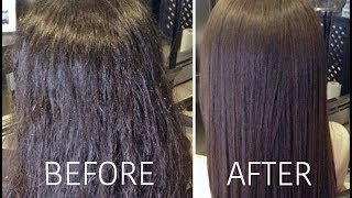 Download SAYING GOODBYE TO FRIZZY HAIR! | Carli Bybel Video