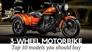 Download Top 10 Trikes and 3-Wheel Motorcycles that Define Supreme Riding Comfort Video