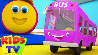 Download Bob The Train | Wheels On The Bus Go Round And Round | Nursery Rhymes | Kids Songs | Kids Tv Bob Video