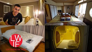 Download Where to Stay in Japan | Hotel, Ryokan, Capsule, AirBNB, Guest House, Hostel... Video
