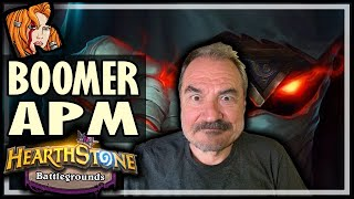 Download BOOMER APM? PLAY RAFAAM! - Hearthstone Battlegrounds Video