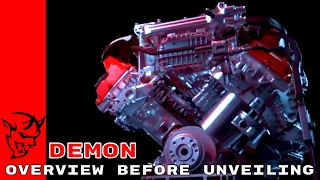 Download 2018 Dodge Challenger SRT Demon Teaser Overview Before Unveiling Video