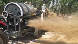 Download Wheat hadamba thresher Video