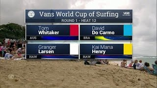 Download 2016 Vans World Cup: Round One, Heat 12 Video