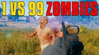 Download 1 VS 99 Zombies | PUBG Video