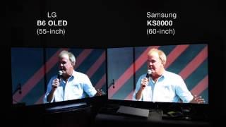 Download (Amazon HDR) LG B6 OLED vs. Samsung KS8000 Video