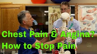 Download Chest Pain & Angina? How to Treat & Stop Pain Video