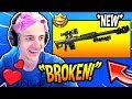 Download NINJA LOVES THE *NEW* HEAVY SNIPER RIFLE! *OVERPOWERED* Fortnite FUNNY & SAVAGE Moments Video