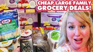 Download CHEAP Large Family Grocery Shopping Deals + THM Haul (Plus My BIG Weight Gain Chit Chat & Plans!) Video