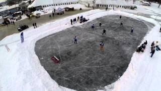 Download 2015 Michigan Pond Hockey Classic Aerial Video Video