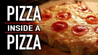 Download PIZZA INSIDE A PIZZA Video