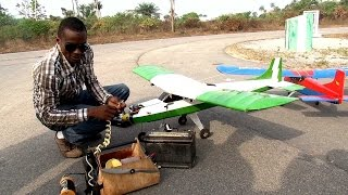Download Eye Witness Report: Gifted Nigerian Invents Flying Mini-Aircrafts Video