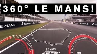 Download INCREDIBLE 360 DEGREE VIDEO! GT-R Drives First EVER 360 VR lap of #LeMans #GTR #NISMO Video